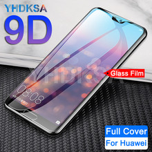 9D Protective Glass For Huawei P20 Pro P10 Lite Plus Screen Protector Film For
