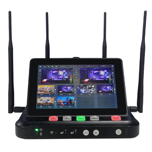 Mine R8 4G Live Stream Switcher Support 2 SDI and 2 HDMI 2 SIM Bonding 8 Channel Video Switching Video Encoder(China)