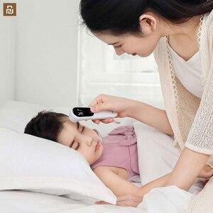 Image 4 - Termometre doğru dijital ateş kızılötesi klinik termometre temassız ölçüm LED gösterilen bebek için