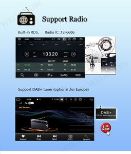 """Image 4 - DSP IPS 9""""Android 10.0 8Core 64G ROM 4G RAM Car DVD Player GPS map RDS Radio wifi 4G Bluetooth 5.0 for Hyundai IX35 Tucson 2018"""