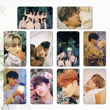 Crystal-Card-Sticker Photocard GOT7 Collection Gift New for Fans 10pcs/Set Ablum Student