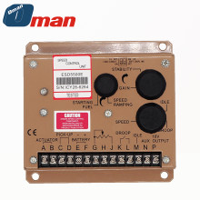 Fast delivery ESD5500E Dual-capacitor diesel generator set controller, engine speed control regulator,