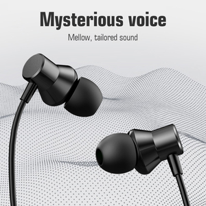 Image 2 - Lenovo HF130 3.5mm In ear Wired Earphone Sound Heavy Subwoofer Driver Stereo Earbuds Sports Earphone with Mic Headset