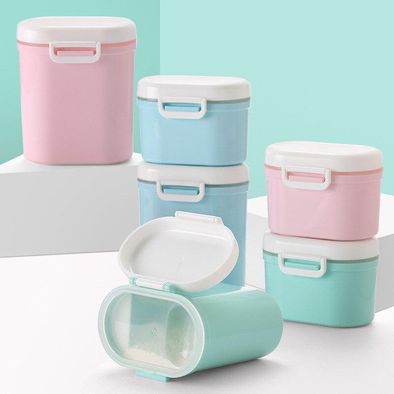 Infant Milk Box Portable Nursing Large Capacity Storage Tank Baby Separately Packed Case Rice Flour Mini Sealed Milk Container