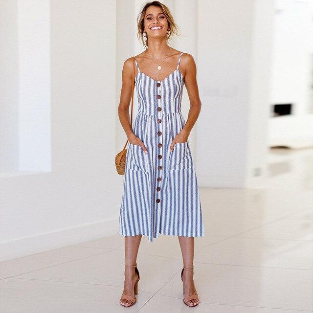 Summer Strap Print Floral Long Boho Bohemian Beach Dress 2018 Women Sundress Sexy Casual Loose Plus Size Robe Femme Maxi Dresses 6