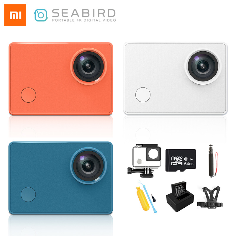 Seabird Waterproof Cam Video-Camera Hisilicon Xiaomi Sport 4k/30fps WIFI Hi3559 title=