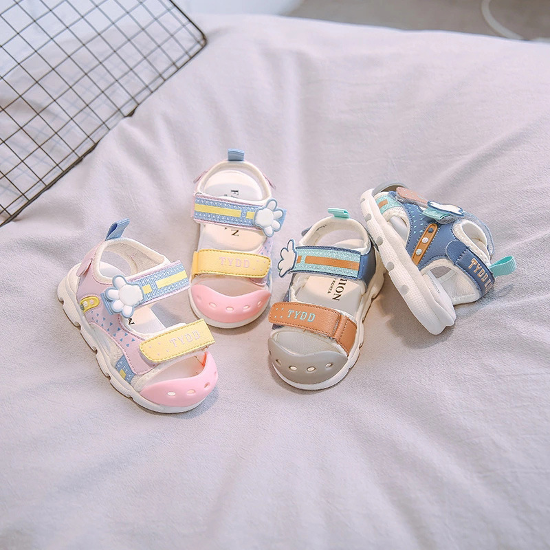 Girls Baby Shoes 2020 Summer New Children's Shoes Boys And Girls Baby Toddler Shoes Soft Bottom