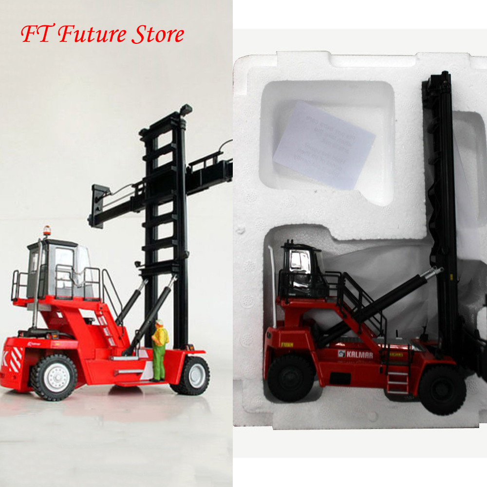 Diecast 1 50 Scale Port Machinery Container Stack Machine Kalmar Red Dcg80 100 Port Container Stacker Forklift Construction Diecasts Toy Vehicles Aliexpress