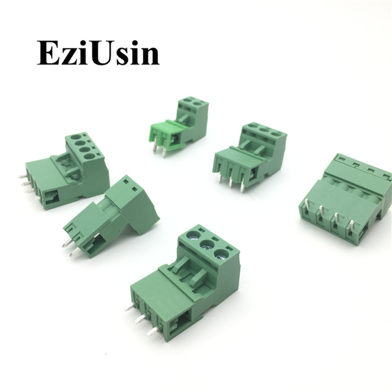 2EDG5.08 5.08mm KF2EDG PCB Screw Terminal Block Connector PLUG PIN HEADER SOCKET Right Angle 2/3/4/5/6/7/8/9/10/12/14/16