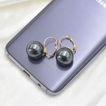 Σκουλαρίκια με μεγάλο μαργαριτάρι Κοσμήματα Σκουλαρίκια Αξεσουάρ MSOW