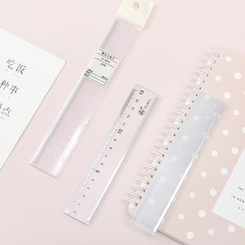 Light color new cute ruler Kawaii study multifunction drawing for student office school supply stationery arrive