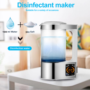 Electric Hydrogen Water Generator Disinfection Water Maker Indoor Portable Hypochlorous Acid Water Making Machine 1PC