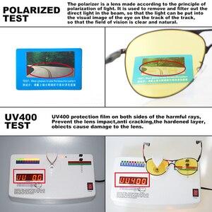 Image 5 - CoolPandas en kaliteli havacılık erkek güneş gözlüğü polarize sürüş fotokromik gündüz gece görüş gözlüğü Pilot gözlük kadınlar UV400