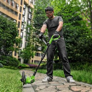 WORKPRO 18V 2000mAh Cordless Grass Trimmer(China)