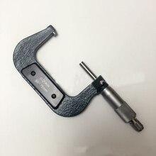 Внешний микрометр 50-75 мм Диапазон измерения, разрешение 0,01 мм, спиральный микрометр, измерительный инструмент, Учебная практика