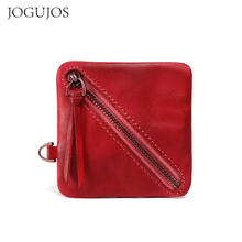 Jogujos новый дизайн кошелек из натуральной кожи для женщин