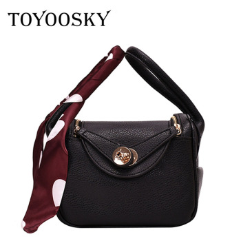 TOYOOSKY Elegant Female Tote Bucket Bag 2020 Fashion New High Quality PU Leather Women's Designer Handbag Travel Shoulder Bag klonca freeshipping chic female handbag new designer stone flap bag high quality pu leather versatile crossbody bag 2019 hot