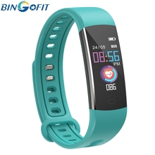BingoFit Kinder Smart Watch Bluetooth Fitness Tracker Heart Rate GPS Watches School Sports Alarm Wristwatch for Android IOS цена