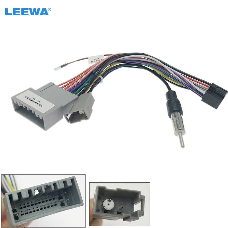 Leewa Car Audio Stereo Wiring Harness For Honda Odyssey  Pilot  Ridgeline Pluging Into Oem Factory