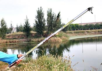 3.6m 3.9m 4.2m 4.5m Carp Carbon Fiber Fishing Rod Telescopic Ultra-light Hard Pole for Stream Freshwater Sea Fishing Pole