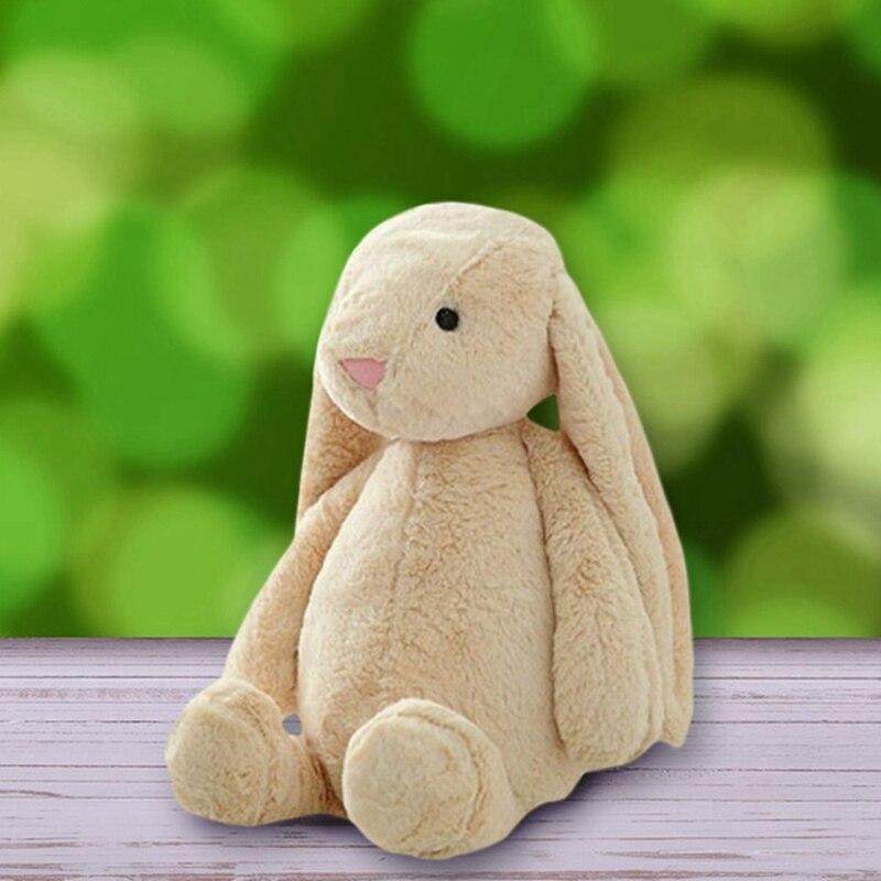 Cute Soft Fluffy Rabbit Stuffed Plush Animal Bunny Toy Fashion Doll Sleeping Mate Stuffed &Plush Animal Baby Toys For Infants