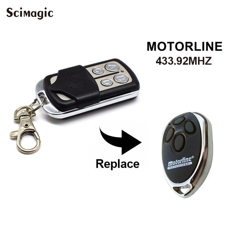 MOTORLINE MX4SP DSM Gate Control 433.92MHz Keychain For A Barrier