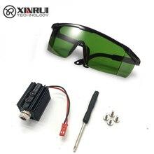 5V 1000MW 1500MW 405nm accessorio per incisore del modulo Laser della testa del laser della luce blu per la macchina per incisione di intaglio del laser di CNC