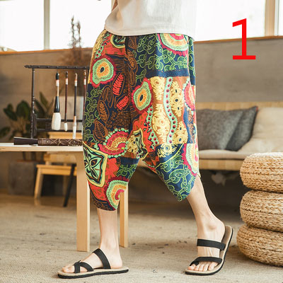 Summer Shorts Men's Pants Korean Version Of The Trend Of Sports And Leisure Five Pants Thin Section