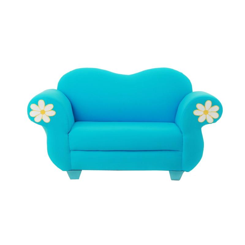 Small Hairy Children's Sofa Double Baby Sofa Children's Garden Sofa Chair Boy Girl Cartoon Daisy Small Sofa