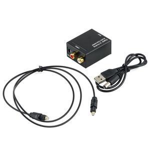 Цифровой оптический SPDIF Toslink коаксиальный сигнал в аналоговый преобразователь стерео аудио DAC Jack 2 * усилитель RCA декодер адаптер