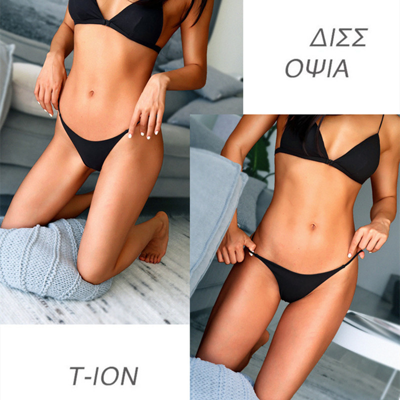 H29db18abaac34930a341d9692226798cr - Sexy Thong Bikini Bottoms Women G-String Brazilian Thongs Swimwear Swimsuit Solid Bottom Swimming Suit