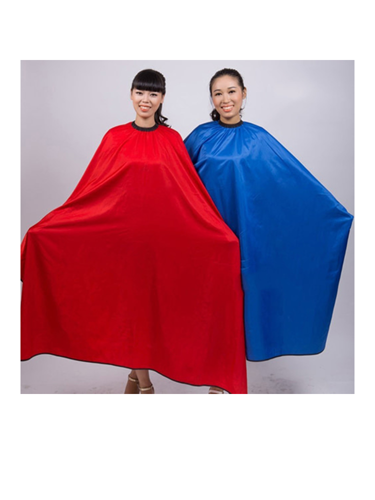 Men\'s Women\'s Salon Barber Hairdresser Hair Cutting Waterproof Cloth Gown Cape This Cape Can Use In Hair Salon Or At Home.