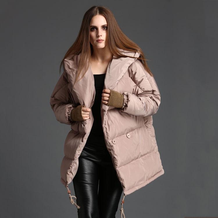 White 90% Duck Down Jacket Women Winter Coat Women Down Coat Loose Puffer Jacket Warm Parka Veste Femme OYG-0165 YY1479