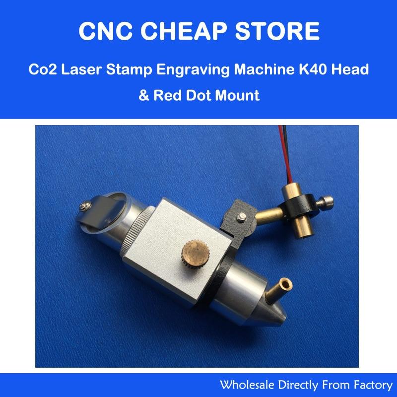 DIY Engraving Cutting K40 Co2 Laser Head + Adjust Focus Focal Diode Module Red Dot Position 5V Holder Dia 22mm