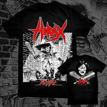 Hirax-maníaco-camiseta oficial/ataque nuclear d. r. i. Evildead Whiplash