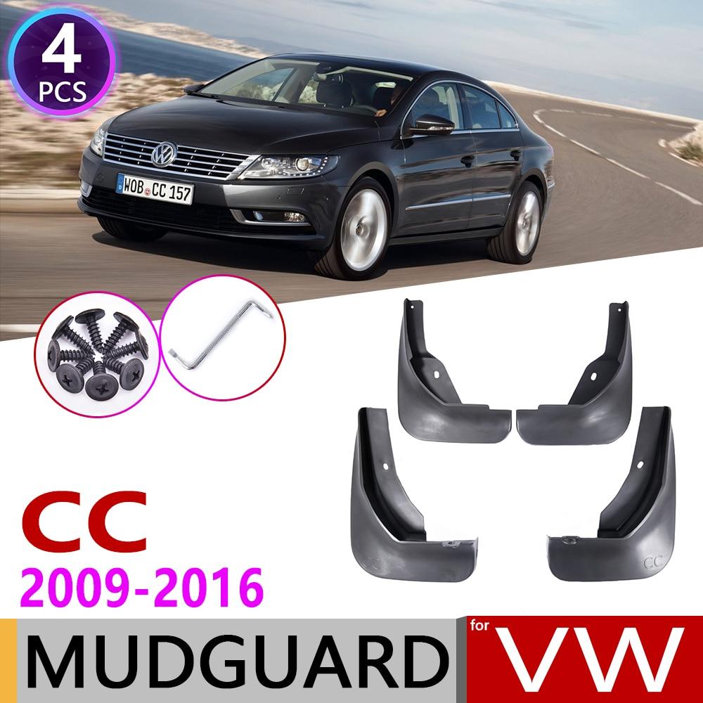 For Volkswagen VW Passat CC 2009~2016 Fender Mudguard Mud Guard Splash Flap Mudguards Accessories 2010 2011 2012 2013 2014 2015