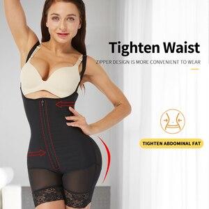 Image 2 - cinta modeladora para cintura emagrecimento corretor de Cintura formador shapewear corpo shaper bunda levantador espartilho para emagrecimento roupa interior corretiva virilha aberta cincher modelagem cinta faja