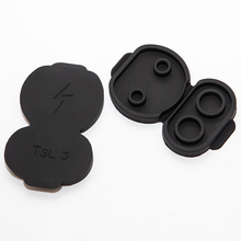 vxvb New For Tesla Model 3 2021 Accessories  Europe Car Charging Port Dust Plug Protective Cover Car Model Y Model3 Accessory