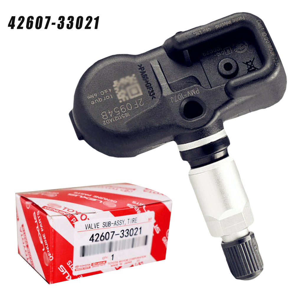 Black Car Tire Pressure Sensor Auto Black 42607-33021 Monitoring 4260733021 For Toyota For Lexus Tire Pressure Sensor