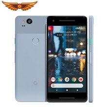 Google Pixel 2,,, 5,0 дюймов, четыре ядра, 4 Гб ОЗУ, 64 ГБ/128 ГБ, Snapdragon 835, одна SIM, 12 МП, Android, разблокированный мобильный телефон