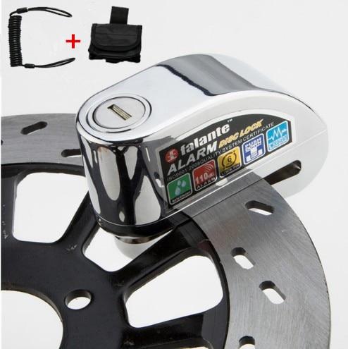 Bike Alarm Disc Lock Anti-theft Brake Disc Security Alarm Electron Lock 6mm Pin For Motorcycle Motorbike Safety Bicycle