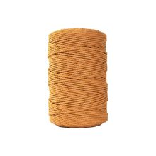 3mm cabo de algodão colorido cabo corda bege artesanato macrame corda diy casa têxtil casamento decorativo tricô artesanato # sw