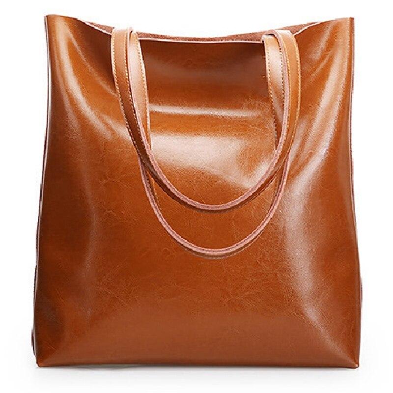 100% Genuine Leather Women Bag Women'S Handbag Shoulder Ladies Messenger Bag Luxury Designer Crossbody Bags For Women Totes