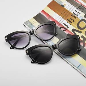 Cat-Eye-Sunglasses Lenses Female Fashion Eyewear Driving Shades Women UV400 for Simple