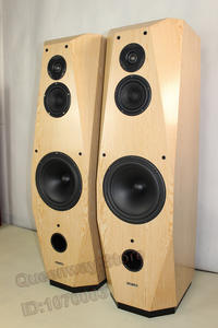 Loudspeak-Speaker Floor-Standing Tweeter Midrange Silver 10-Inches Hi-End DIY 4531 8861bass
