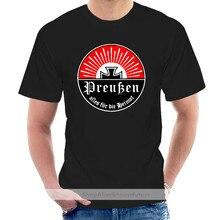 2021 Summer Brand Clothing Prussia Alles For Die Heimat Friedrich Der Size - T Shirt Novelty T Shirt @008628