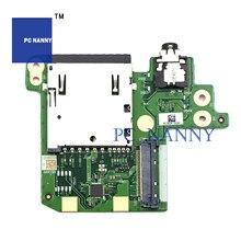 PCNANNY для Lenovo ThinkPad T480s SD аудио Плата NS-B472 Lcd Lvds Сенсорная панель 01LV588 светодиодная плата сканер отпечатков пальцев кабель DA30000L130