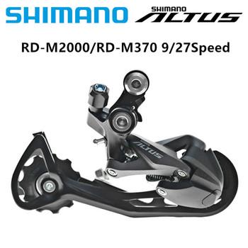 SHIMANO ALTUS RD-M2000 M370 9 27 prędkości rower przerzutka tylna przerzutka rowerowa tylna przerzutka tylna MTB rower górski rowerowa jazda na rowerze przerzutka tylna długa klatka tanie i dobre opinie ID (pochodzenie) 9 poziomów prędkości 9 27 Speed Przerzutki STOP RD-M2000 RD-M370