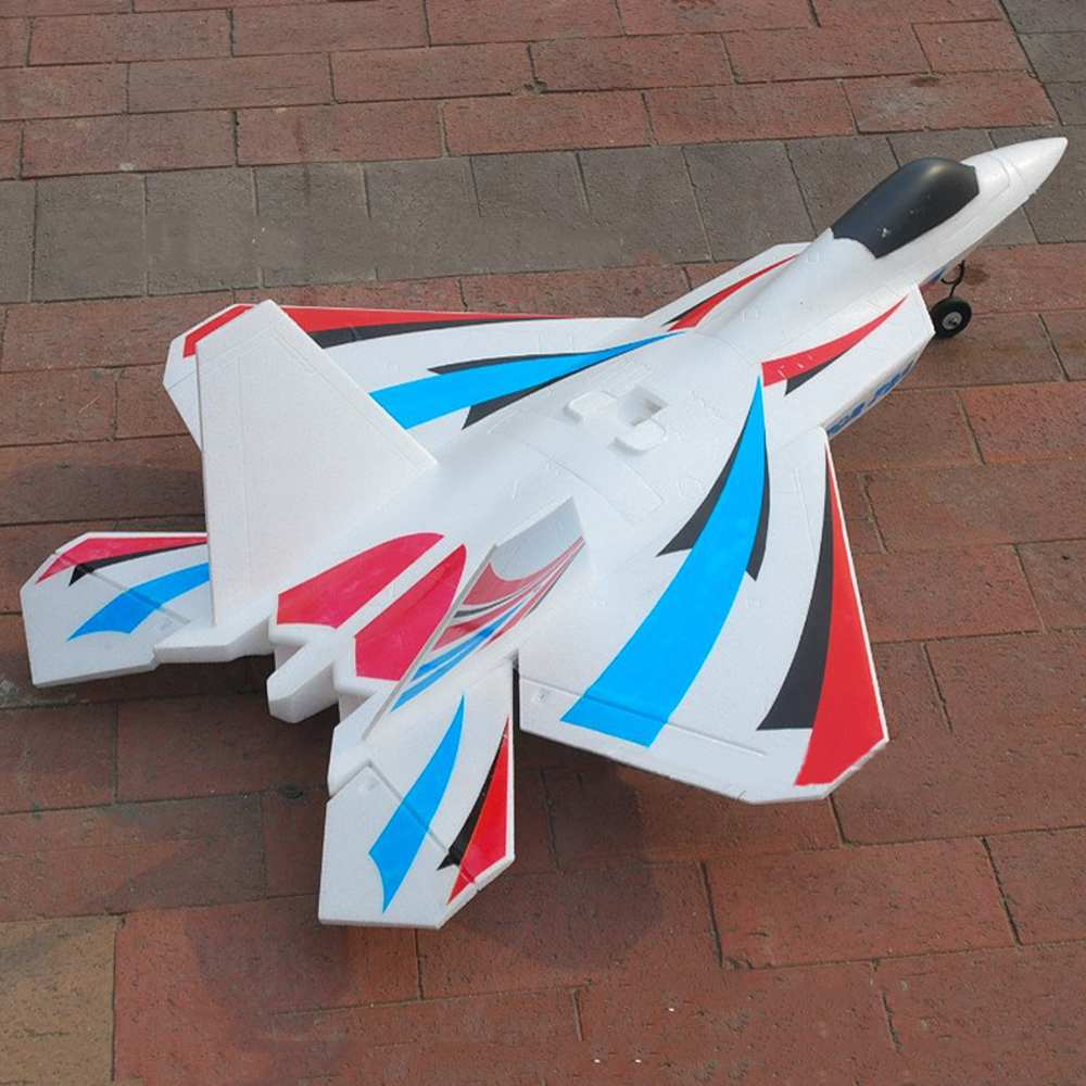 High Quality F22 720mm Wingspan 64mm Ducted Fan EDF Jet EPO RC Airplane Aircraft KIT For Kids Gift