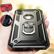 ZNP Shockproof Armor Holder Case For iPhone